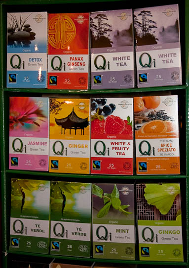 Fairtrade tea Qi