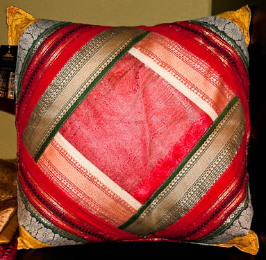 Fairtrade cushions from Tibet and Nepal