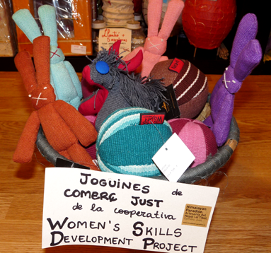 Fairtrade toys from Nepal