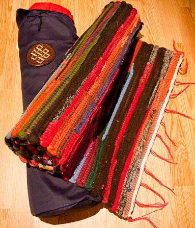 Cotton Fair trade Yoga mats